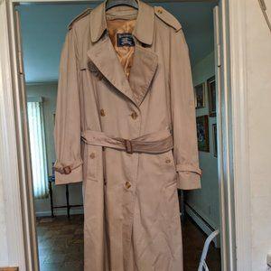 Men's Burberry's Lined Trench Coat